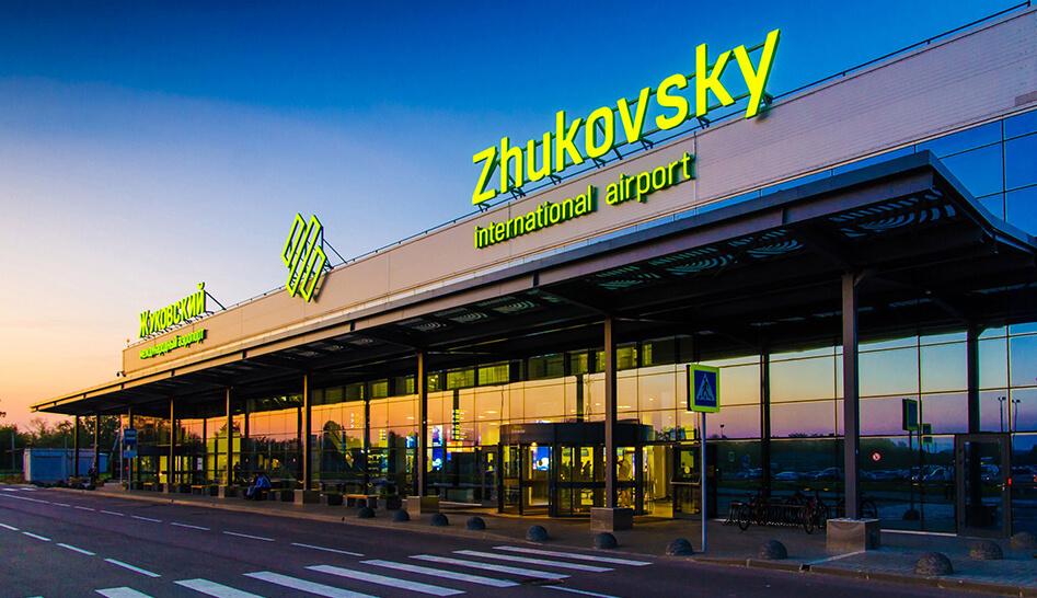 Схема аэропорта Жуковский